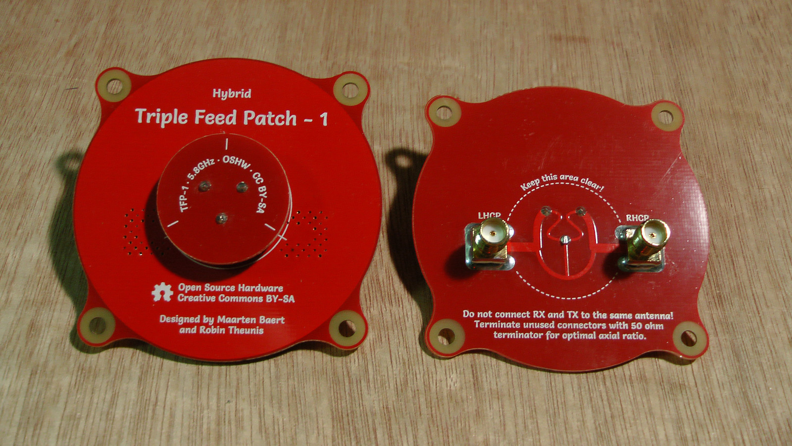 Triple Feed Patch Antenna Quadcopters Maarten Baerts Website Design Calculator Circuit For