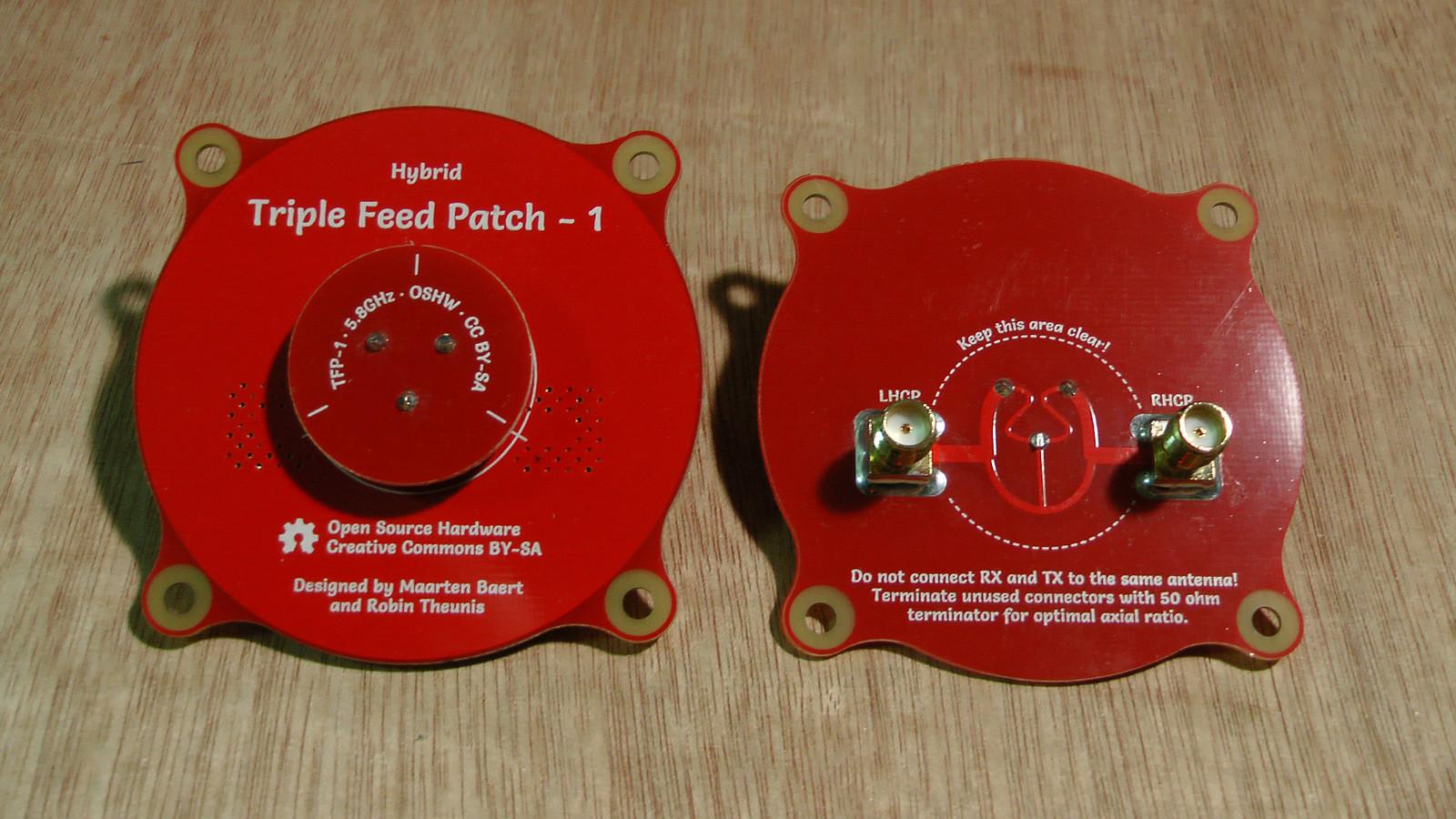 Triple Feed Patch Antenna Quadcopters Maarten Baerts Website Design Calculator Circuit For